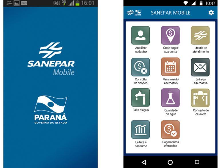 Aplicativo Sanepar