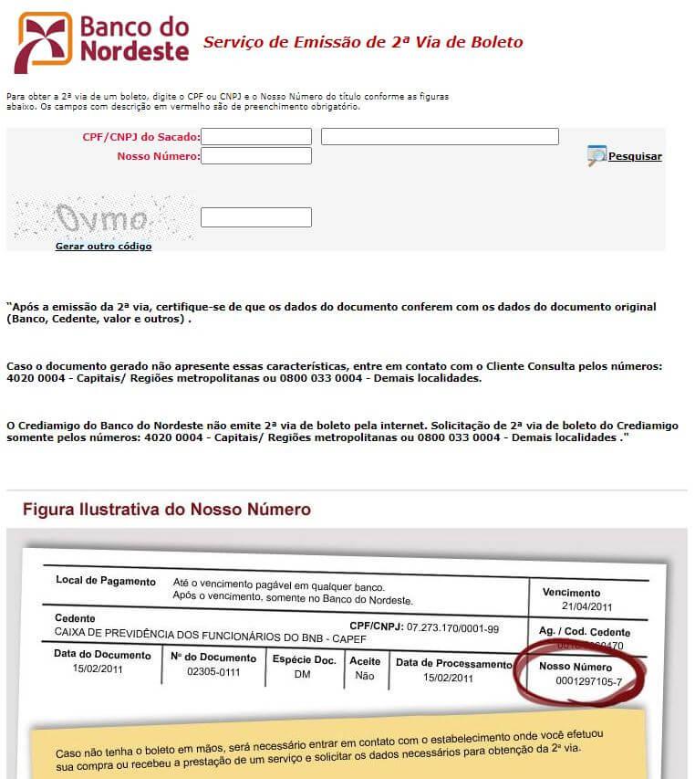 Atualizar Boleto Banco do Nordeste com código de barras