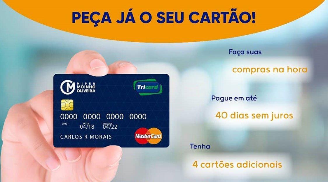 Como Solicitar o Cartão TriCard Online