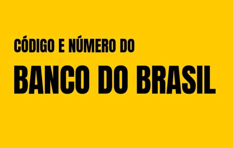 Código Banco do Brasil