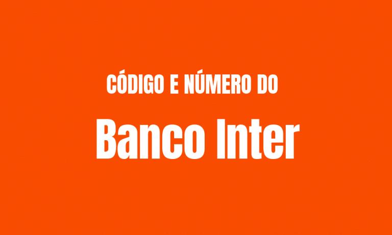 Código Banco Inter
