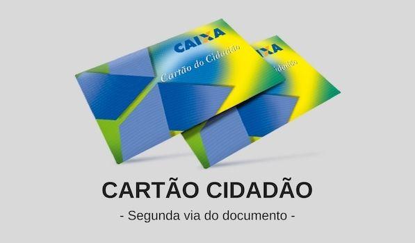 Segunda Via Cartão Cidadão