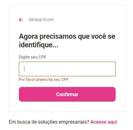 Consultar Score pelo CPF ou CNPJ