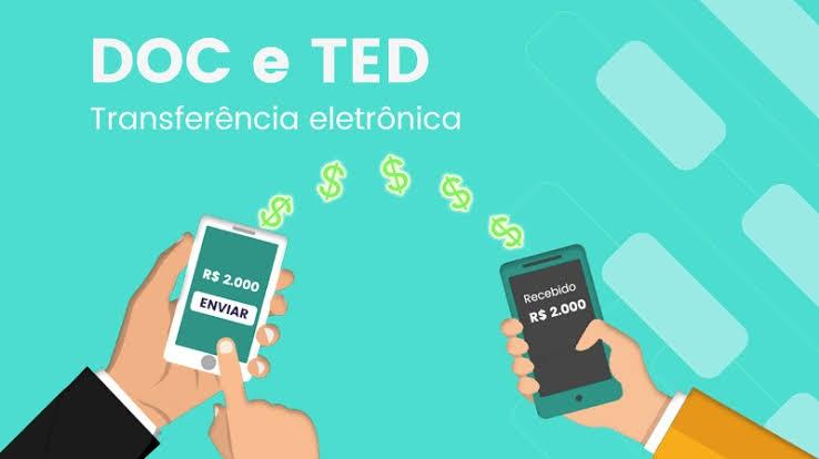 Diferença entre TED e DOC