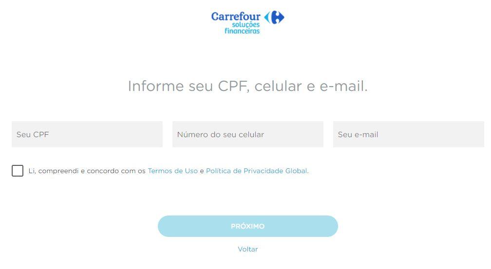 Como Solicitar o Cartão Carrefour Online