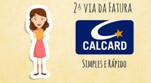 Calcard 2ª Via Fatura
