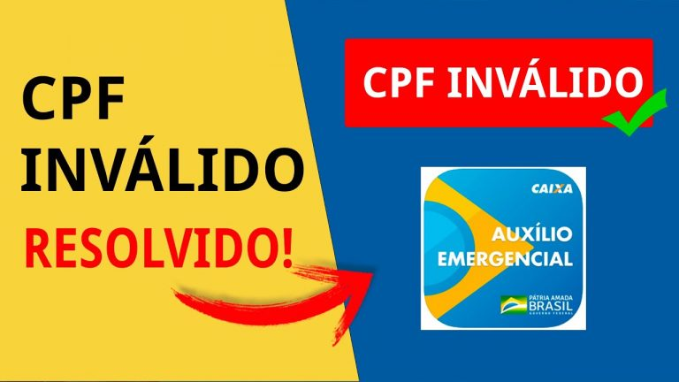 CPF Inválido
