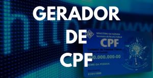 Gerador de CPF